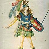 Людовик XIV в роли Воина в Балете ночи (1653)